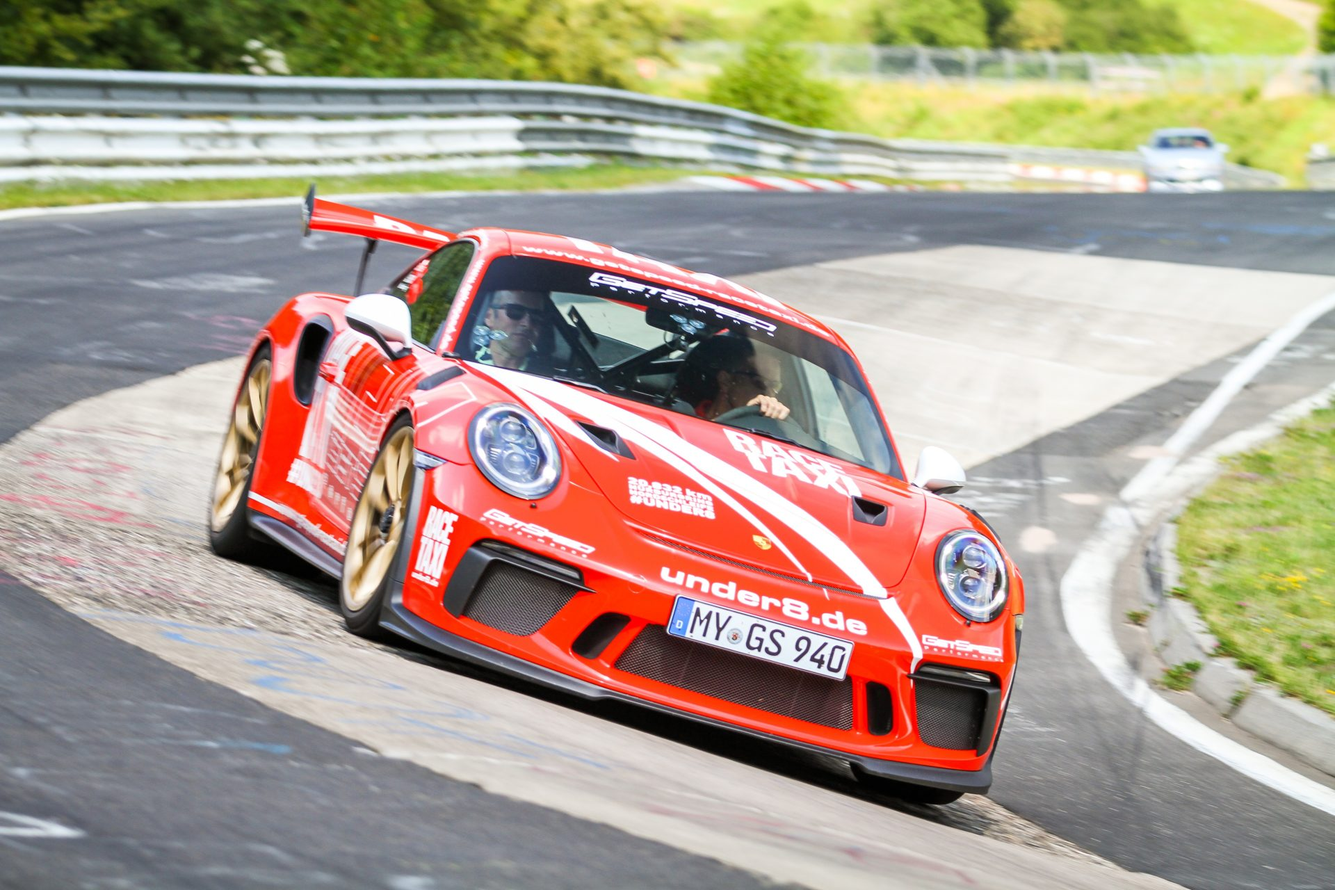 Voucher for a Co,Pilot ride on the Nürburgring Nordschleife (Porsche)