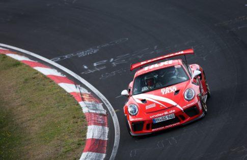 VLN 6. Lauf 2018, Nürburgring-Nordschleife - Foto: Gruppe C Photography; Porsche 911 GT3 Cup, GIGASPEED Team GetSpeed Performance